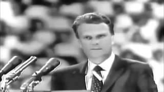 Проповедь Билли Грэма (Billy Graham) , 1958 год \