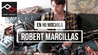 En mi mochila: Robert Marcillas
