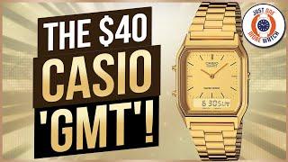 The $40 Casio 'GMT'!