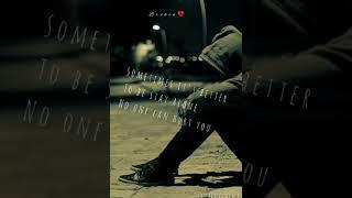 New alone whatapp status 💔 sad status with background music....