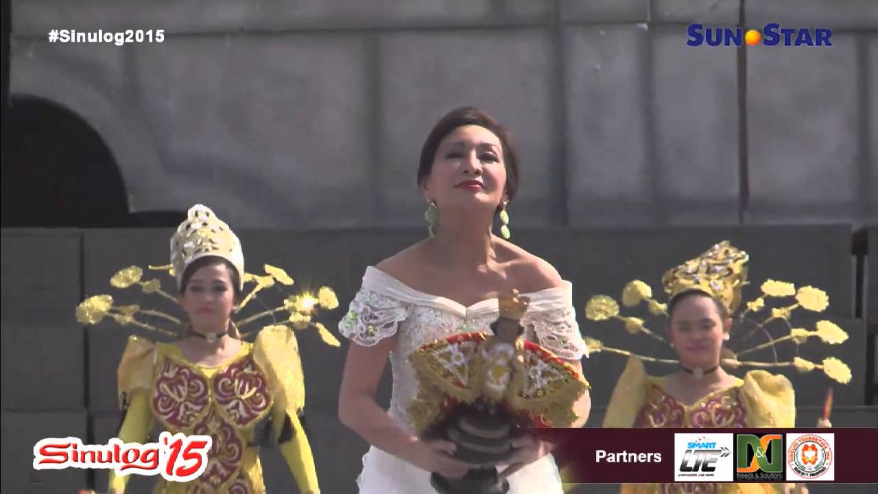 rep gwen garcia at sinulog 2015 grand parade youtube
