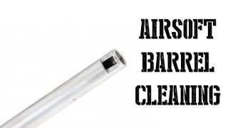 Airsoft Barrel Cleaning