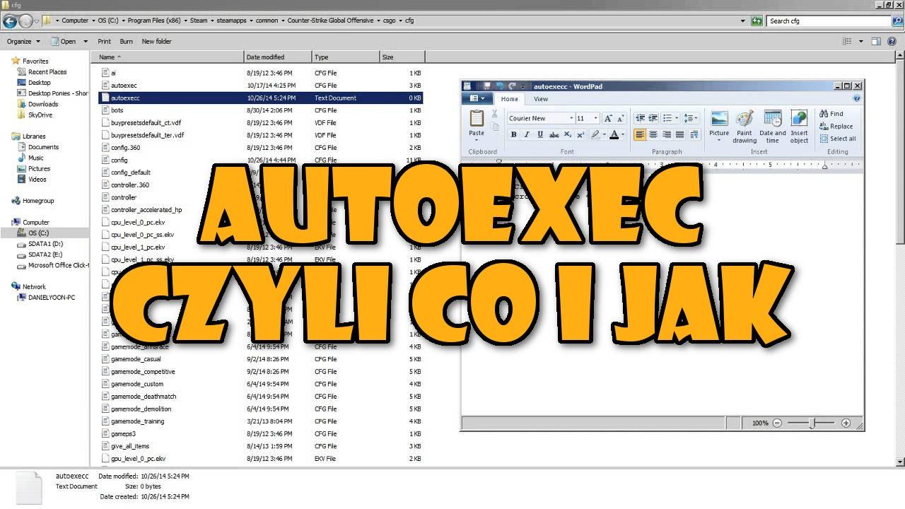 how to use autoexec cs go