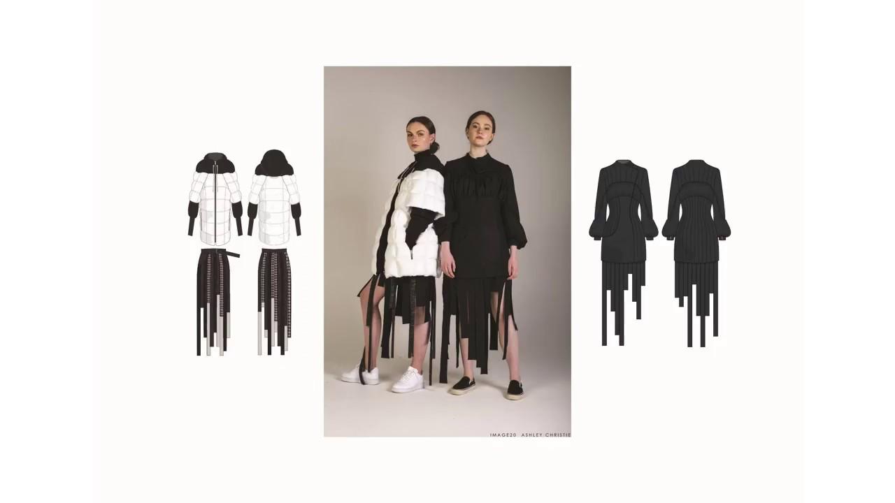 Final Year Portfolio Bcu Fashion Design With Garment Technology Youtube