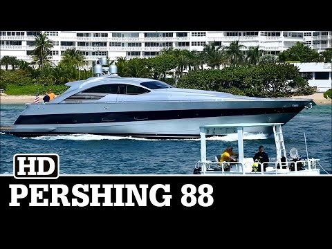 Pershing 88 in Silver   OFF THE GRID