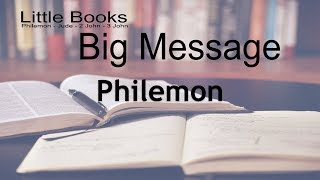 Little Books Big Message Philemon