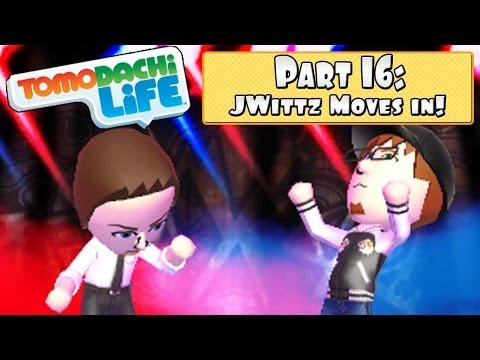Tomodachi Life 3DS - Part 16: JWittz Moves In + Making Babies?!