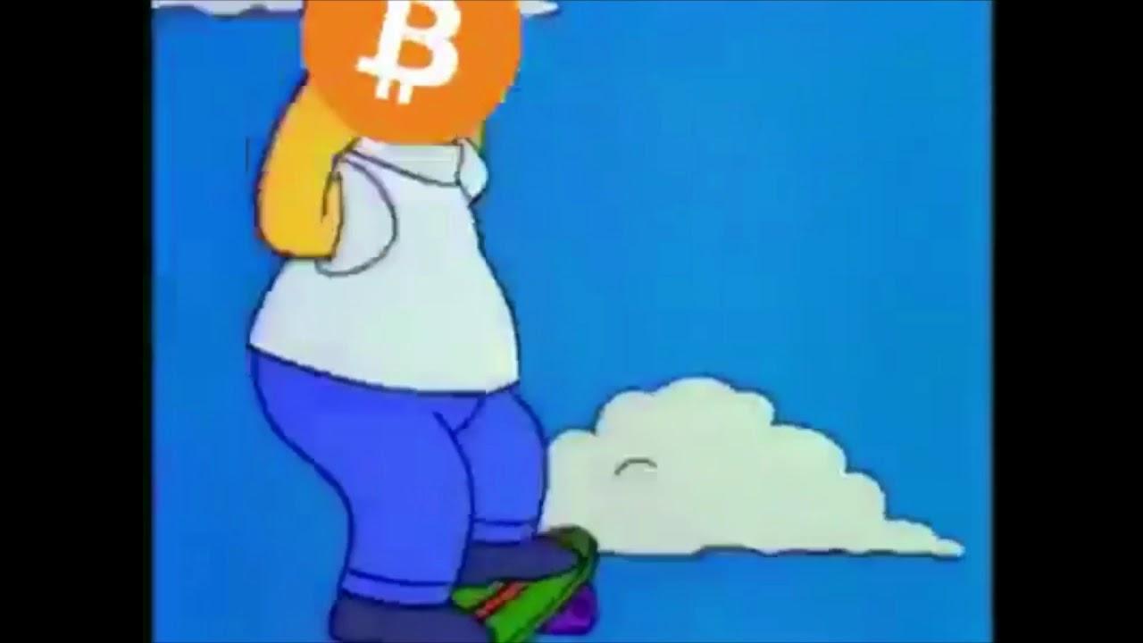 creșterea și căderea bitcoin simpsons