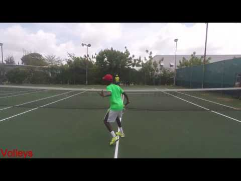Asher Wiltshire College Tennis Recruiting video 2017