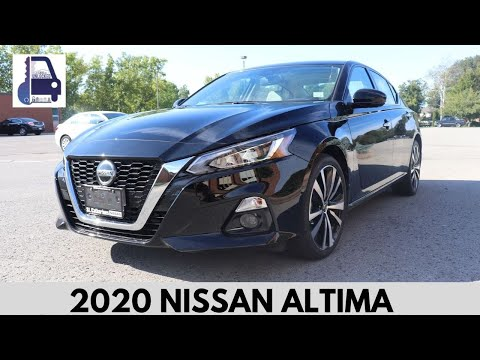 2020 Nissan Altima Platinum Test Drive and Review