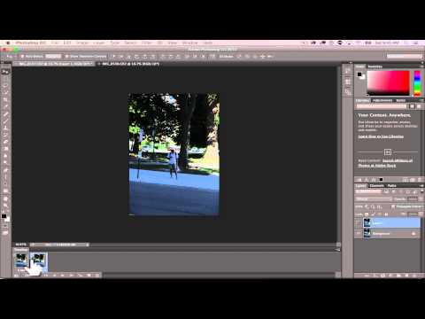 Stereoscopic Gif Tutorial in Photoshop CC