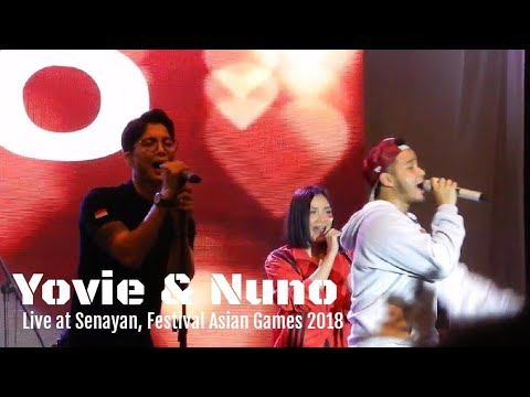 Yovie And Nuno - Bunga Jiwaku | Festival Asian Games 2018