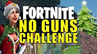 Fortnite: MASTERS OF STEALTH! No Guns Challenge! | Funny Moments