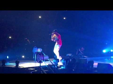 """""""She Wildn w/ Fabulous Chris Brown: The Party Tour @ Sprint Center kcmo on 4/11/17"""