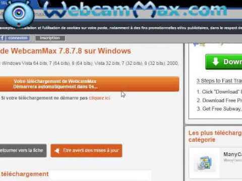 web cam max gratuit clubic