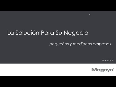 Magaya Webinar: The Solution for SMBs in Logistics (Spanish)