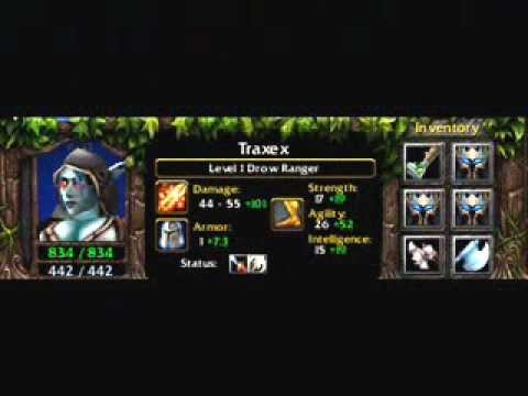 Traxex The Drow Ranger Item Build YouTube