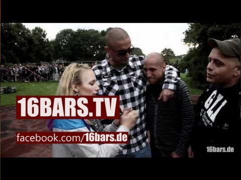 Haftbefehl, Capo Azzlack, Celo & Abdi Interview (16BARS.TV)