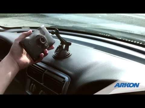 Your Garmin Windshield Mount Fell Off, This one won't! - Arkon GN079WD