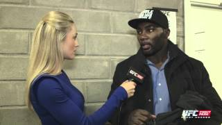 Fight Night Stockholm: Anthony Johnson Backstage Interview