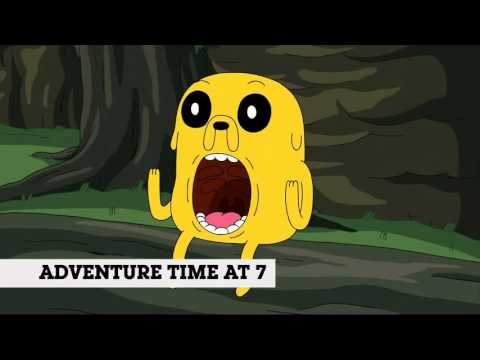 Adventure Time & Regular Show - Saturday Premieres (Promo)