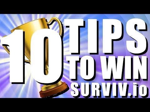 10 TIPS TO WIN MORE GAMES - SURVIV.IO