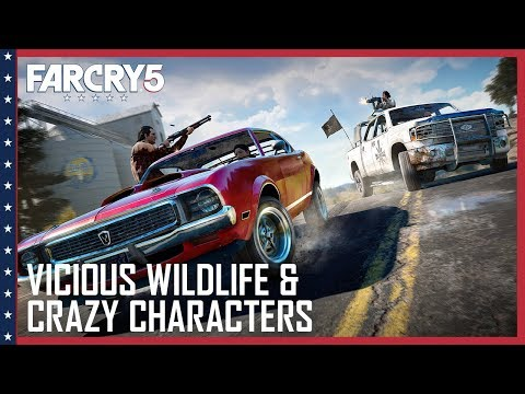 Far Cry 5: Vicious Wildlife, A Crazy Cast of Characters, and Co-Op Hijinks | UbiBlog | Ubisoft [NA]