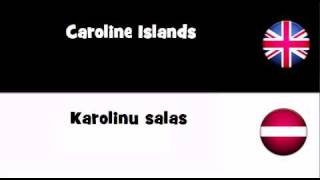TRANSLATE IN 20 LANGUAGES = Caroline Islands