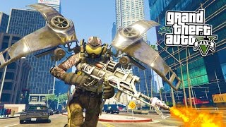 GTA 5 PC Mods - FIREFLY MOD w/ FLAMETHROWER! GTA 5 Firefly Mod Gameplay! (GTA 5 Mods Gameplay)