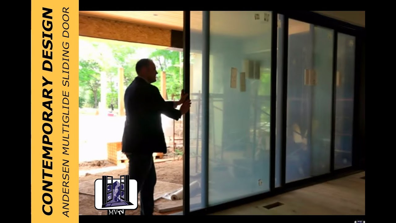 The First Andersen Architectural Collection Multiglide Sliding Door
