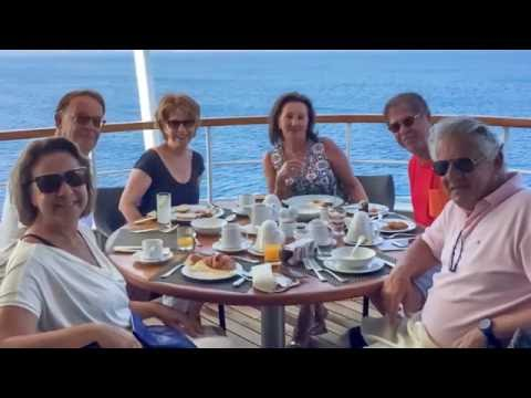 Cruise in the Aegean sea