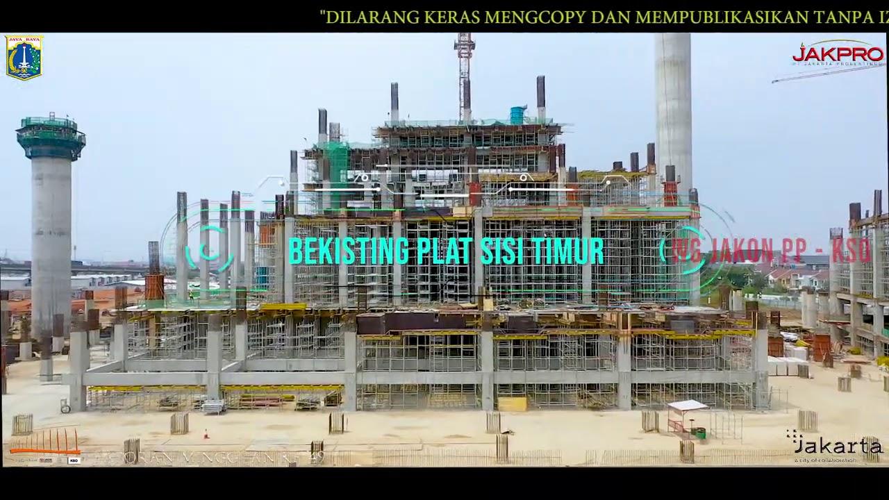Progres Proyek Jakarta International Stadium (JIS)   Minggu-49