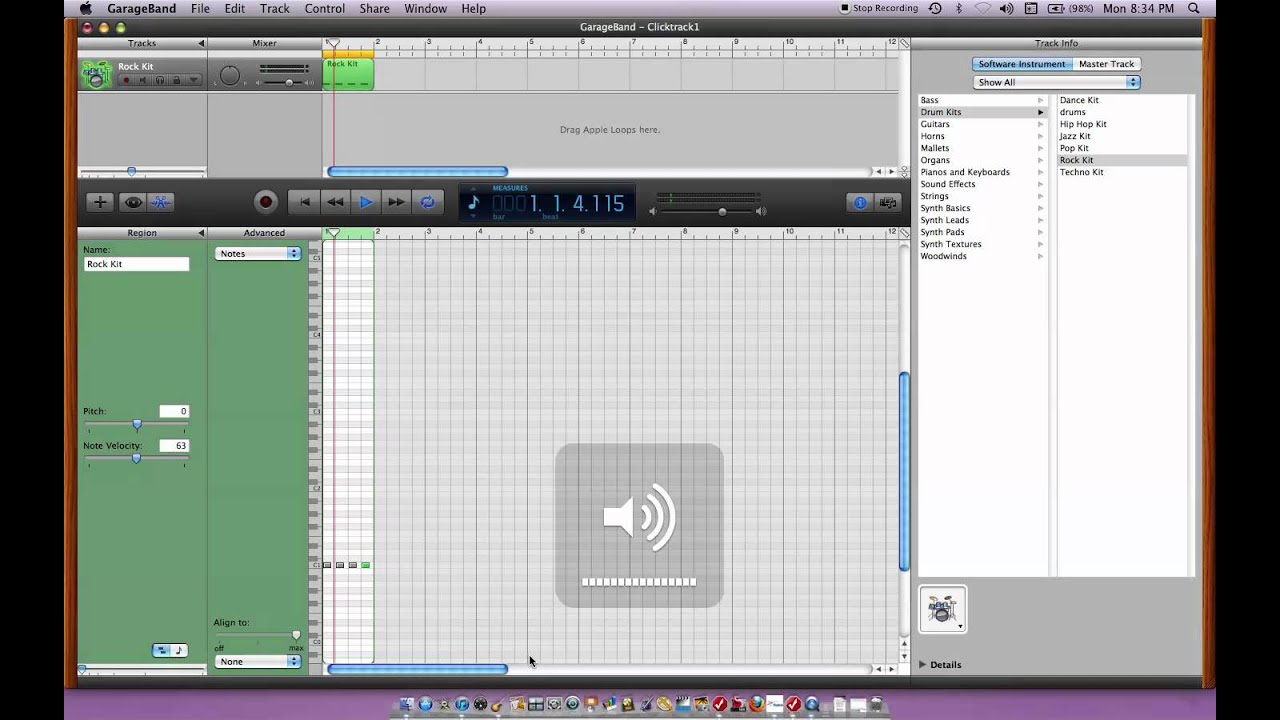 How to make music fast with garageband 08 youtube.