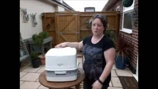 How your Thetford Porta Potti (portable toilet) works