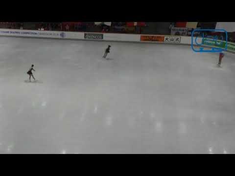 Midori ITO jumped 2A (2018 Adult Figure Skating warm up)
