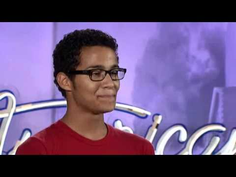 Travis Orlando - Eleonor Rigby - I'm Yours Audition: American Idol 10
