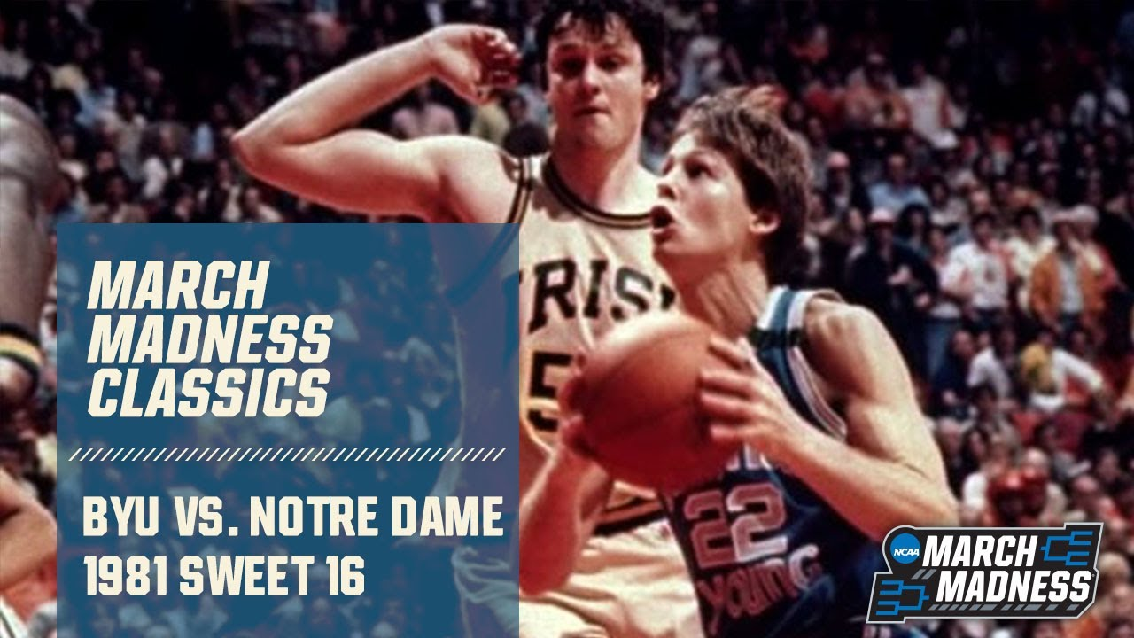 BYU vs. Notre Dame: 1981 Sweet 16 | FULL GAME - YouTube
