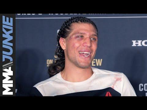 Brian Ortega full UFC 214 post-fight interview