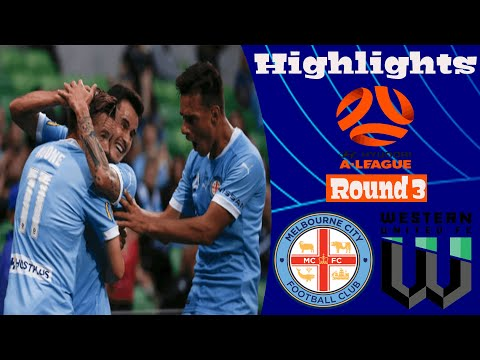 Melbourne City Western United Goals And Highlights