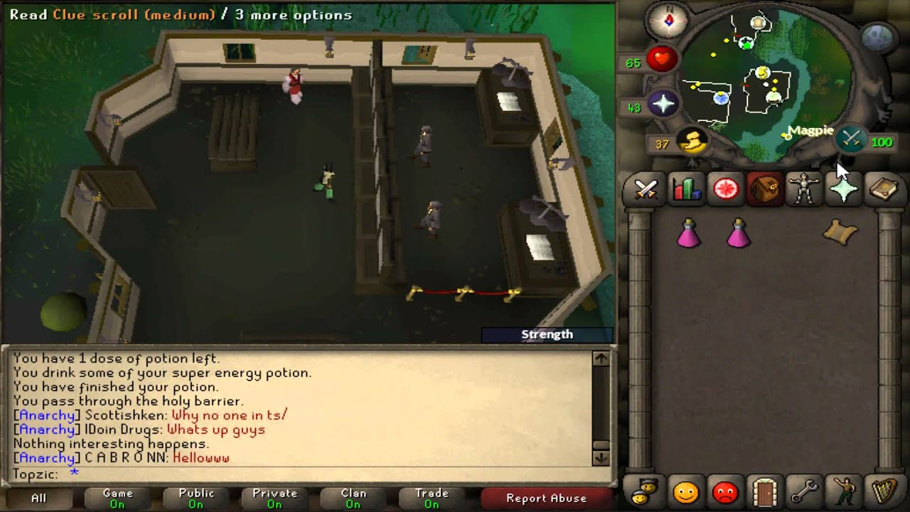 Osrs A Town With A Different Youtube