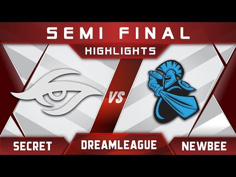 Secret vs Newbee Semi Final DreamLeague 9 Minor 2018 Highlights Dota 2