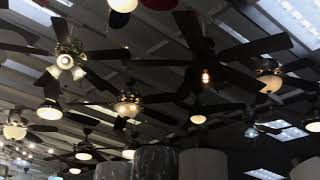 Ceiling Fan & Lighting Displays at Canadian Tire (9/20/2019)