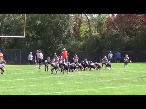 #32 Dylan Hacker - Loveland Tigers 2nd Grade Football (Defense)
