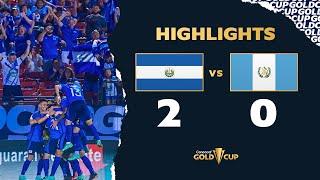 Highlights: El Salvador 2-0 Guatemala -  Gold Cup 2021