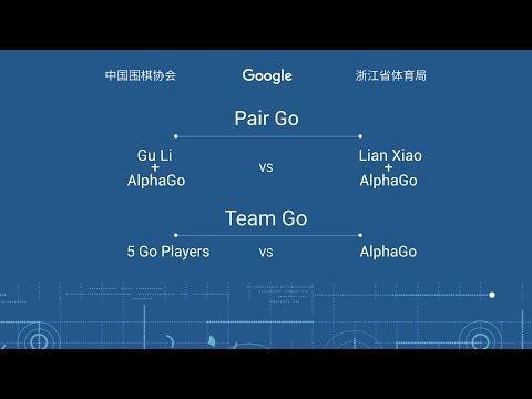The Future of Go Summit: AlphaGo Pair Go & Team Go
