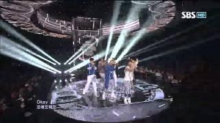 BTOB [WOW] @SBS Inkigayo 인기가요 20120930