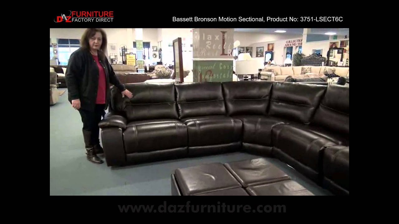 bassett bronson sectional : dillon motion sectional - Sectionals, Sofas & Couches