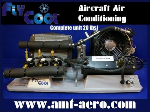 flycool aircraft air conditioning from amt air management colorado