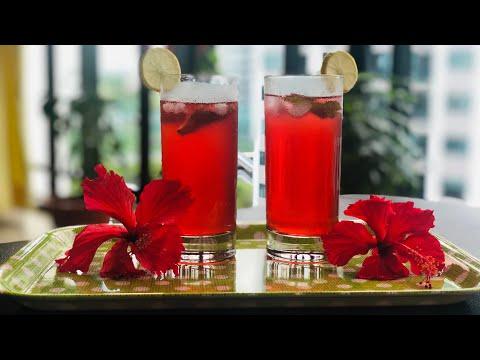 Refreshing Hibiscus Drink    #Healthy Juice    #Weight Management    #De-stress    Easy preparation