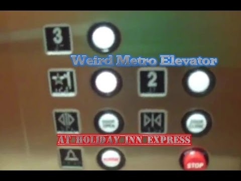 Unusual Metro Hydraulic Elevator @ Holiday Inn Express - Quakertown, Pennsylvania